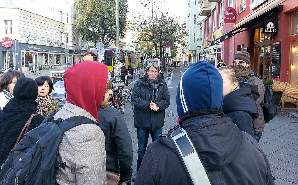 Begehung Pappelallee am 31.10.2012